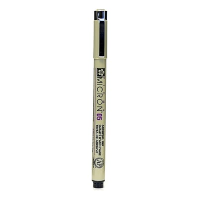 Sakura Pigma Micron black 05 (0.45 mm) [Pack of 6]