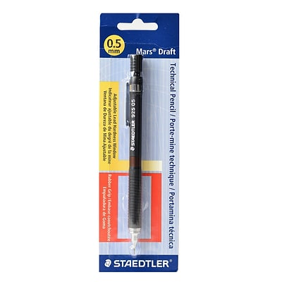 Staedtler Graphite 925 Series 0.5mm Mechanical Pencils, 3/Pack (35607-PK3)