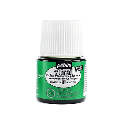 Pebeo Vitrail Paint Chartreuse 45 Ml [Pack Of 3]