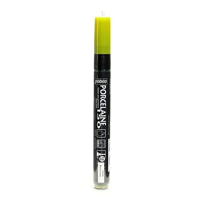 Pebeo Porcelaine 150 Markers peridot green broad [Pack of 3]