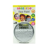 Snazaroo Face Paint Colors Metallic Silver