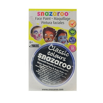 Snazaroo Face Paint Colors Black [Pack Of 3]