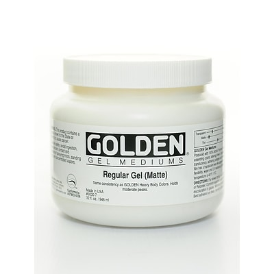 Golden Gel Mediums regular matte 32 oz.