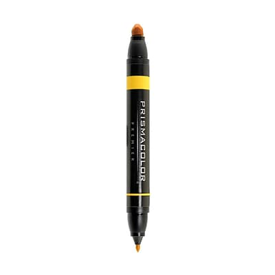 Prismacolor Premier Double-Ended Art Markers yellow ochre 018 [Pack of 6]