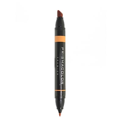 Prismacolor Premier Double-Ended Art Markers burnt ochre 093 [Pack of 6]