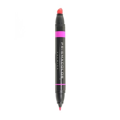 Prismacolor Premier Double-Ended Art Markers rhodamine 055 [Pack of 6]