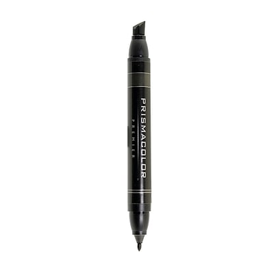 Prismacolor Premier Double-Ended Art Markers warm black 097 [Pack of 6]