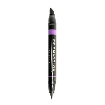 Prismacolor Premier Double-Ended Art Markers, Dark Purple 168, 6/Pack (88563-PK6)