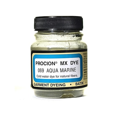 Jacquard Procion Mx Fiber Reactive Dye Aquamarine 069 2/3 Oz. [Pack Of 3]