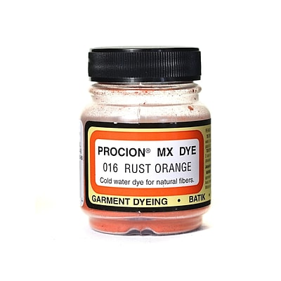 Jacquard Procion Mx Fiber Reactive Dye Rust Orange 016 2/3 Oz. [Pack Of 3]