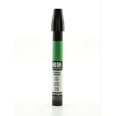 Chartpak AD Marker, Forest Green, Tri-Nib [Pack of 6]