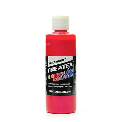 Createx Airbrush Colors Iridescent Red 4 Oz., 2/Pk