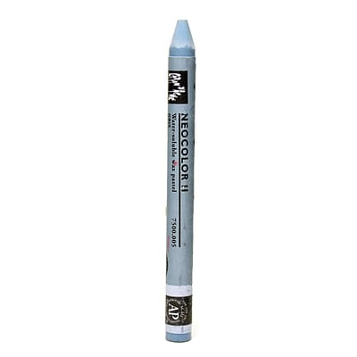 Caran DAche Neocolor Ii Aquarelle Water Soluble Wax Pastels Gray [Pack Of 10]