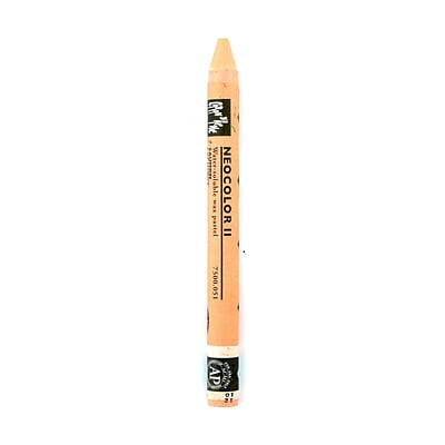Caran DAche Neocolor Ii Aquarelle Water Soluble Wax Pastels Salmon [Pack Of 10]