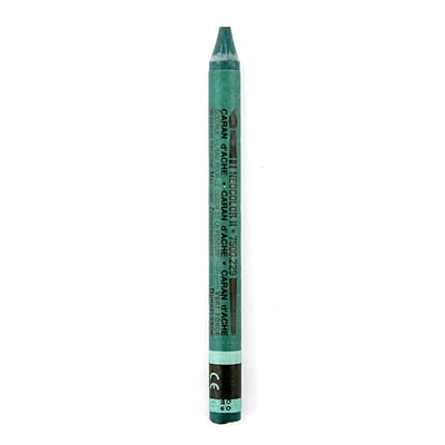 Caran DAche Neocolor Ii Aquarelle Water Soluble Wax Pastels Dark Green [Pack Of 10]