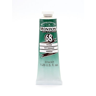 Winsor  And  Newton Winton Oil Colours 37 Ml Viridian 68
