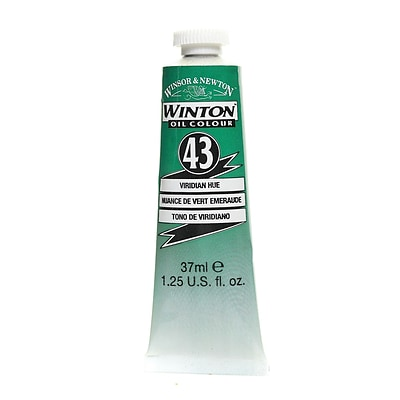 Winsor  And  Newton Winton Oil Colours 37 Ml Viridian Hue 43 [Pack Of 3]