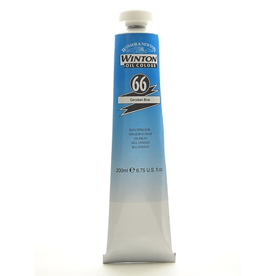 Winsor  And  Newton Winton Oil Colours 200 Ml Cerulean Blue 66