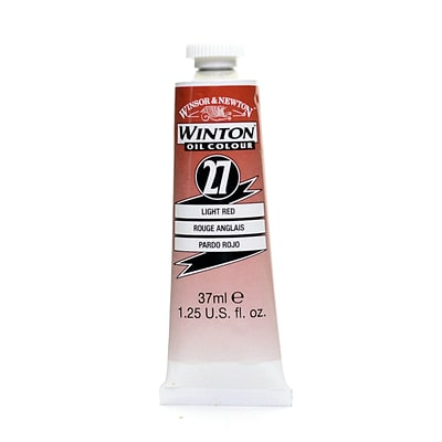 Winsor  And  Newton Winton Oil Colours 37 Ml Light Red 27 [Pack Of 3]