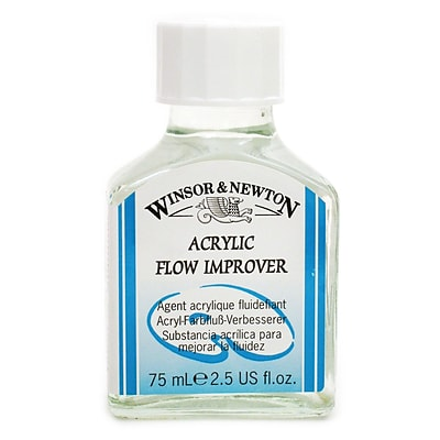 84045-Pk2 Winsor And Newton Acrylic Flow Improver, 125 Ml. Pack Of 2