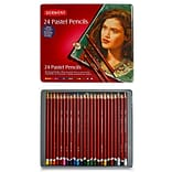 Derwent Pastel Pencil Set; 24/Set