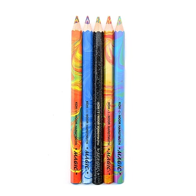 Koh-I-Noor Magic FX Pencil, Pack of 5, Assorted
