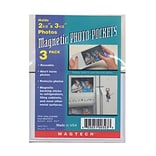 Magtech Magnetic Photo Pockets 2.5x3.5 3P
