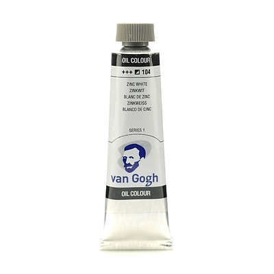Van Gogh Oil Color Zinc White 40 Ml (1.35 Oz) [Pack Of 3]