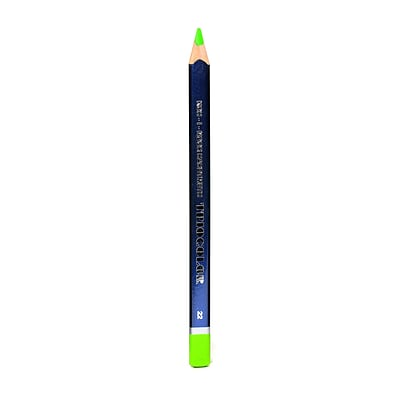 Koh-I-Noor Triocolor Grand Drawing Pencils bice green [Pack of 12]