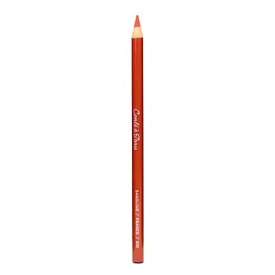 Conte Crayons Esquisse Drawing Pencils, Sanguine, 12/Pack