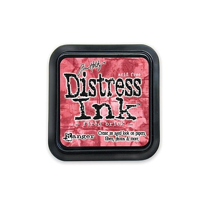 Ranger Tim Holtz Distress Ink Fired Brick Pad [Pack Of 3]