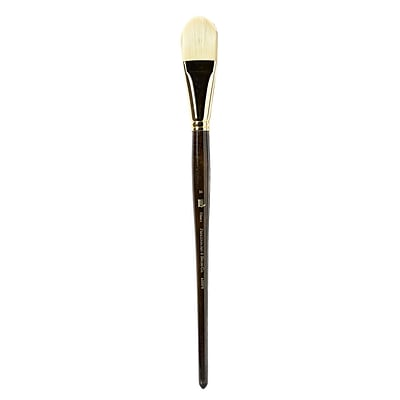 Princeton Series 6300 Synthetic Bristle Acrylic And Oil Brush, 16 Filbert (15014)