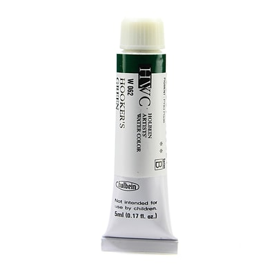 Holbein Artist Watercolor, Hookers Green, 5Ml, 2/Pack