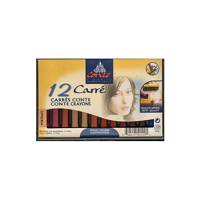 Conte Crayon Sets Portrait Set Of 12