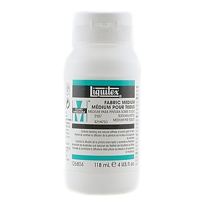 Liquitex Fabric Medium 4Oz Bottle, 2/Pack (19840-Pk2)