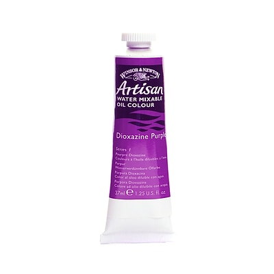 Winsor  And  Newton Artisan Water Mixable Oil Colours Dioxazine Purple 37 Ml 229 [Pack Of 3]
