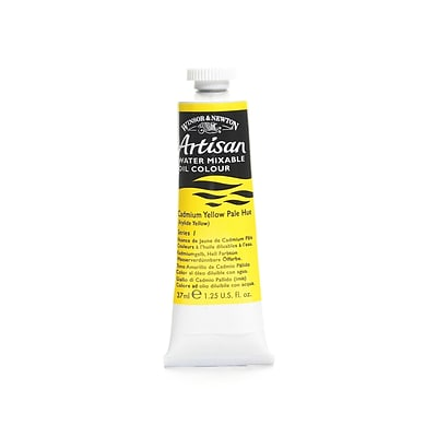 Winsor  And  Newton Artisan Water Mixable Oil Colours Cadmium Yellow Pale Hue 37 Ml 119 [Pack Of 3]