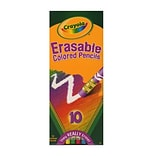 Crayola Erasable Colored Pencils Set Of 10