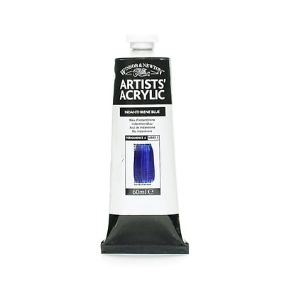 Winsor  And  Newton Professional Acrylic Colours Indanthrene Blue 60 Ml 321