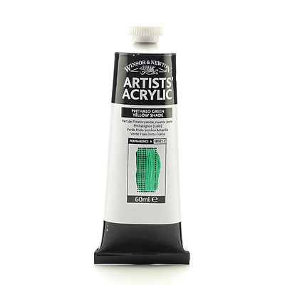 Winsor  And  Newton Professional Acrylic Colours Phthalo Green Yellow Shade 60 Ml 521