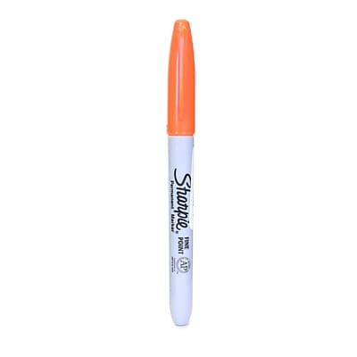 Sharpie Fine Point Markers orange [Pack of 24]