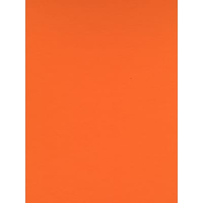 Canson Colorline 19In X 25In Clementine 300 Gsm Heavyweight Paper Sheets, 10/Pack (60441-Pk10)