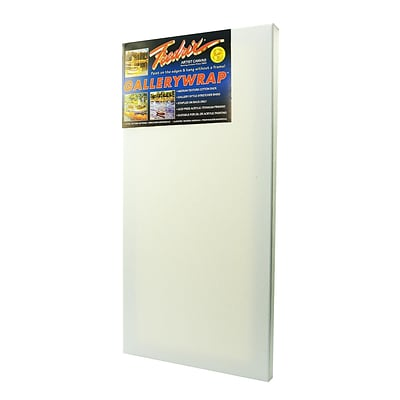 Fredrix Gallerywrap Stretched Canvas 12 In. X 24 In. Each