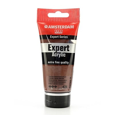 Amsterdam Expert Acrylic Tubes Transparent Oxide Brown 75 Ml [Pack Of 2]