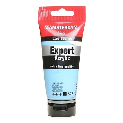 Amsterdam Expert Acrylic Tubes Sky Blue 75 Ml [Pack Of 3]