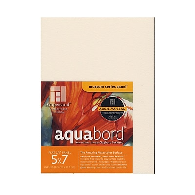 Ampersand Aquabord 5 In. X 7 In. Pack Of 3 [Pack Of 3]