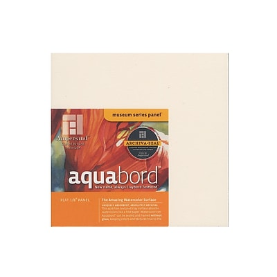 Ampersand Aquabord 8 In. X 8 In. Each [Pack Of 4] (4PK-CBT088)