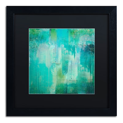 Trademark Fine Art Color Bakery Aqua Circumstance 16 x 16 (886511699847)