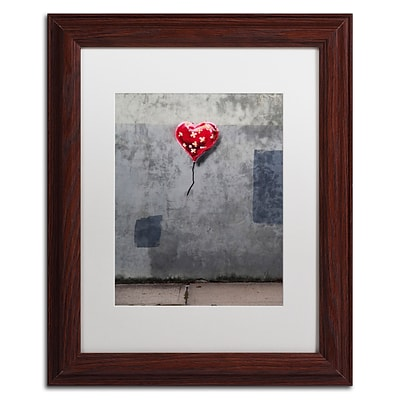 Trademark Fine Art Banksy NYC Love 11 x 14 (ALI0808-W1114MF)