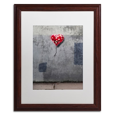 Trademark Fine Art Banksy NYC Love 16 x 20 (ALI0808-W1620MF)